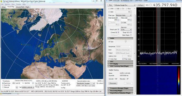 WxTrack SDRSharp HO-68 doppler correction
