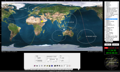 Satellitstatus