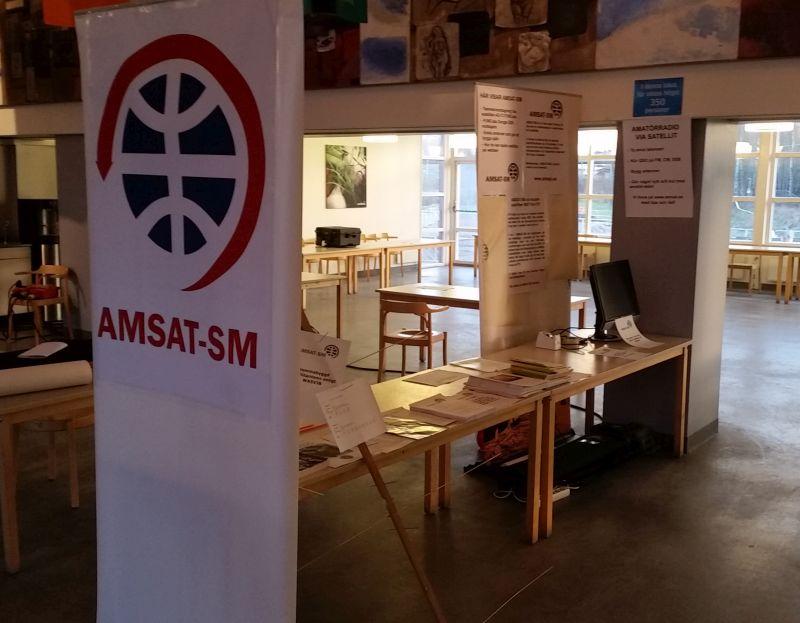 AMSAT-SMs monter redo inför SSAs årsmöte
