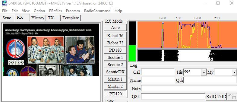 Amatörradio från ISS – Sida 2 – AMSAT-SM – Official Website of AMSAT